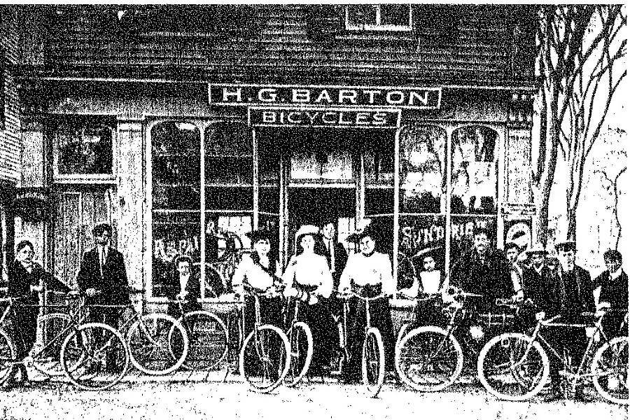 H. G. Barton Bicycle Shop - Cambridge, NY
